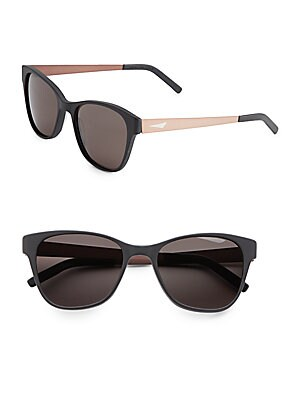 London 2.1 55MM Wayfarer Sunglasses