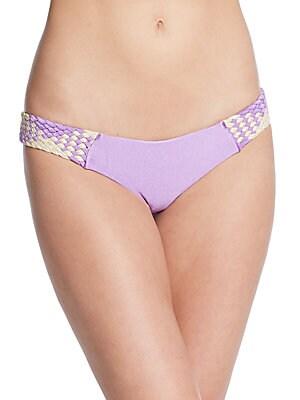 Woven Bikini Bottom