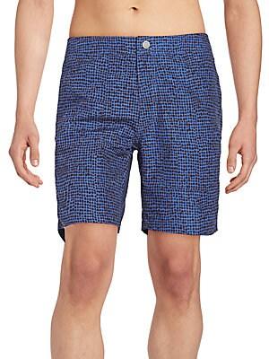 Calder Dot-Print Swim Shorts