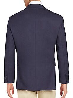 Modern-Fit Wool Blazer