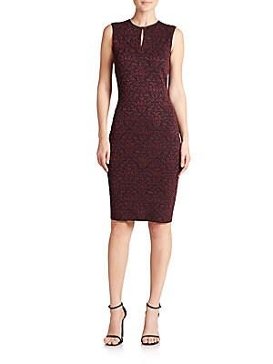 Sparkle Brocade Knit Dress