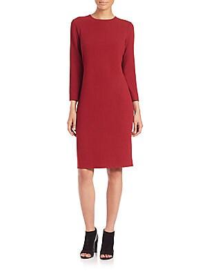 Bouclé Knit Dress