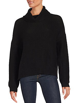Ribbed Wool-Blend Pullover