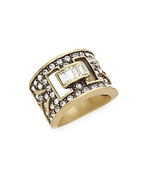 Eternal Beauty Swarovski Crystal & Multicolored Rhinestone Ring