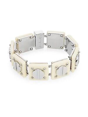 Resin Screw Tennis Bracelet