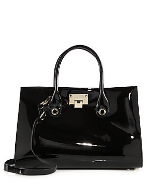 Riley Patent Leather Tote