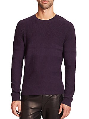 Solid Wool Blend Sweater
