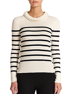 Striped Combo Sweater