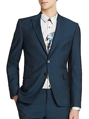 Peak Wool & Mohair Jacket