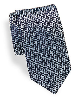 Silk Embroidered Tie