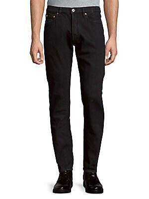 Slim-Fit Prewashed Pants