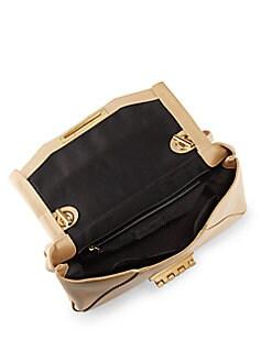 Eartha Leather Envelope Bag