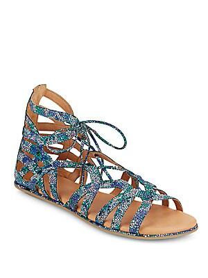 Break My Heart Lace-Up Sandals