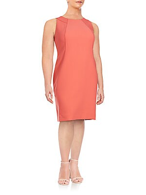 Alora Stretch Cotton Shift Dress