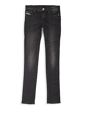 Blended Cotton Zipped Pants