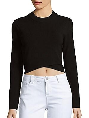 Asymmetrical Cropped Sweater