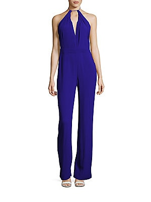 Sleeveless Halterneck Jumpsuit