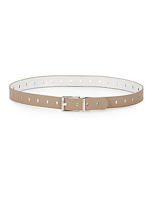 Metallic-Buckled Belt