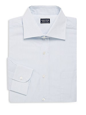 Narrow Stripe Dress Shirt