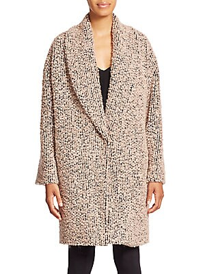 Ralter Oversized Bouclé Knit Coat