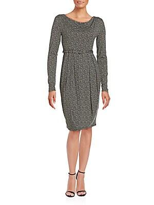 Ciro Printed Jersey Dress