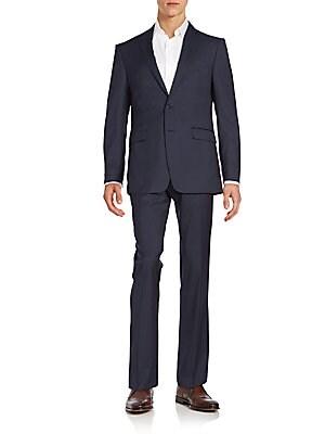 Extreme Slim-Fit Pinstripe Wool Suit