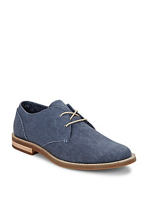 Waylon Canvas Derby Shoes