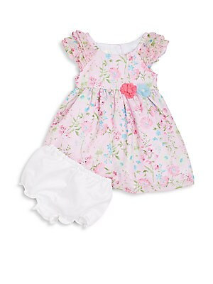 Toddler's & Little Girl's Floral-Print Dress