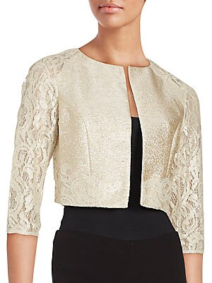 Cropped Lace Jacket