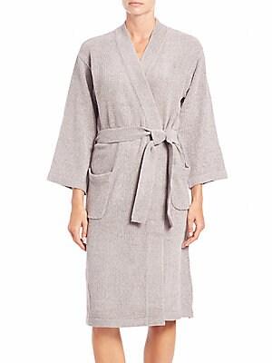 Knit Wrap Robe