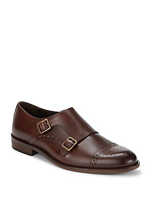 Cap Toe Leather Shoes