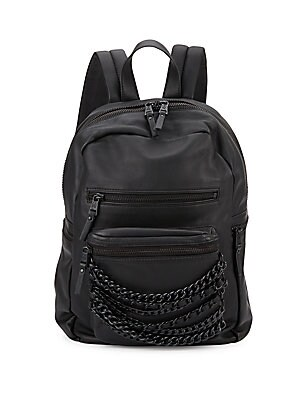 Domino Leather Backpack