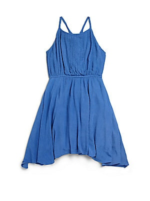 Girl's Upper West Crinkle Dress