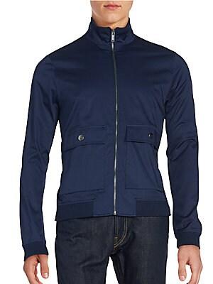 michael kors male pocket bomber jacket