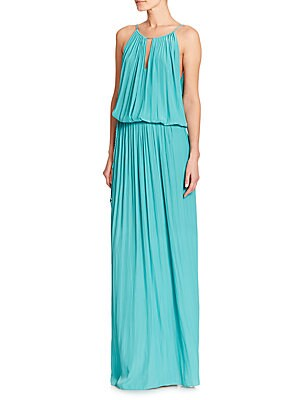 Lindsay Blouson Maxi Dress