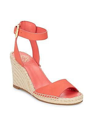 Tagger Nubuck Espadrille Wedge Sandals
