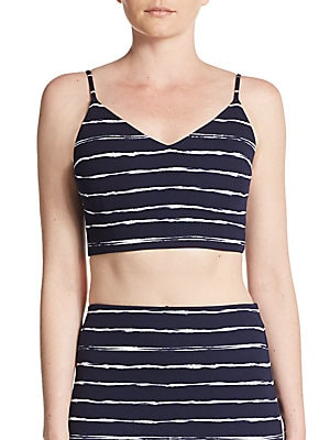 Striped Bralette Top