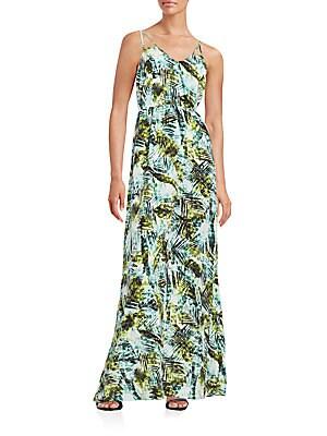 Kisa Printed Maxi Dress