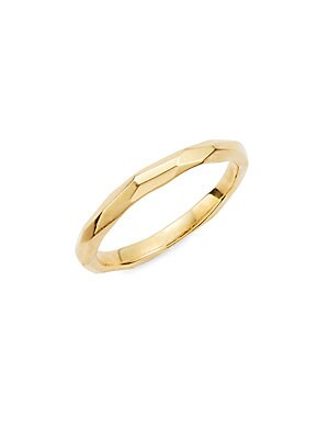 Click here for 18K Yellow Gold Band Ring prices