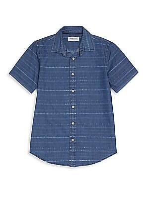 Boy's Rush Printed Denim Shirt