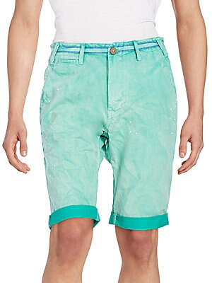Chase Dyed Cotton Shorts