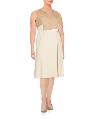 Estella Dress Lafayette 148 New York, Plus Size