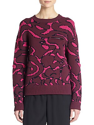 Cabbage Intarsia Sweater