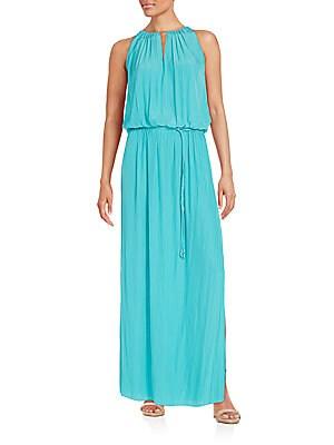 Lindsay Blouson Maxi Dress