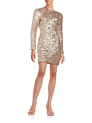 Obscene Sequin Dress