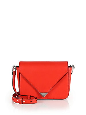 Prisma Leather Envelope Shoulder Bag