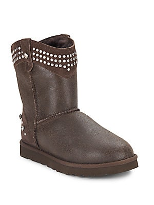 Bowen Shearling Studded Boots