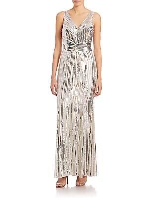 Dawson Sequined Maxi Dress