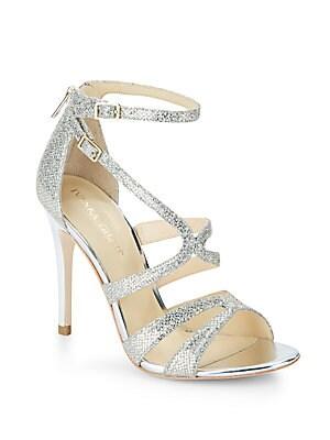 Hotis Glitter & Metallic Sandals