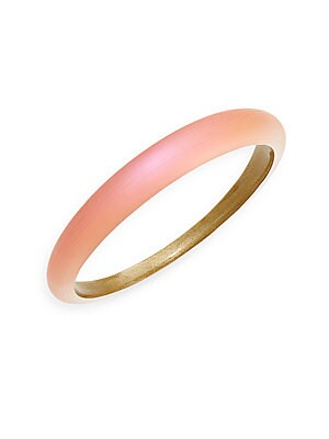 Lucite Tapered Bangle